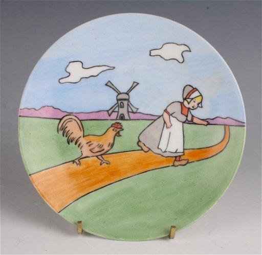 spotykać się wyprzedaż hurtowa przybywa SILESIA PORCELAIN CHILD'S PLATE