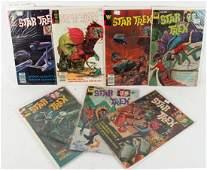 STAR TREK GOLD KEY WHITMAN COMICS