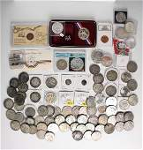 LARGE COIN COLLECTION SILVER DOLLARS
