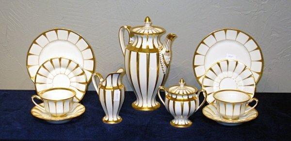 4: Art Deco Furstenburg porcelain coffee set