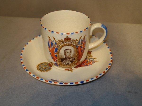 10: A rare Coronet Ware tea cup