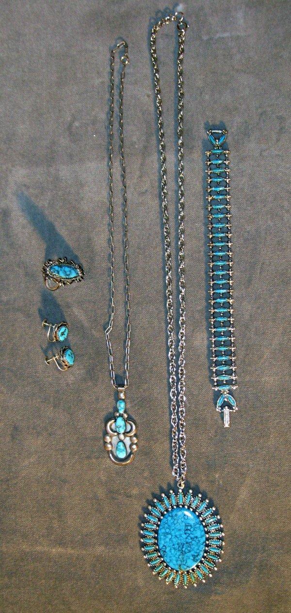 21: Costume jewelry  jewelry turquoise