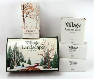 DEPARTMENT 56 VILLAGE LANDSCAPE IN BOX