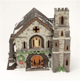 DEPARTMENT 56 DICKENS VILLAGE WHITTLESBOURNE CHURCH