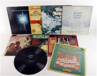 ASSORTED LOT OF HOLIDAY CHRISTMAS LP RECORDS