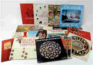 LOT OF CHRISTMAS RECORDS