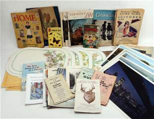 LARGE LOT OF VINTAGE EPHEMERA NEW YORK STATE