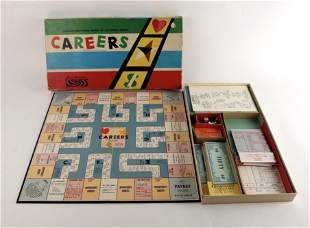 PARKER BROTHERS CAREERS BOARD GAME 1958