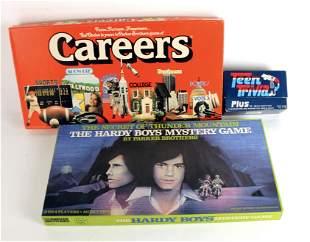 2 VINTAGE BOARD GAMES & TEEN TRIVIA