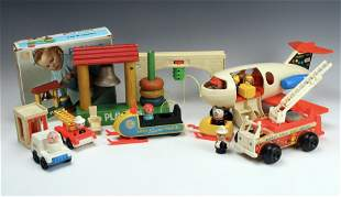 ASSORTED FISHER PRICE & LITTLE PEOPLE TOYS