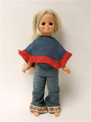IDEAL TOY CORP 1969 HAIR GROWING DOLL