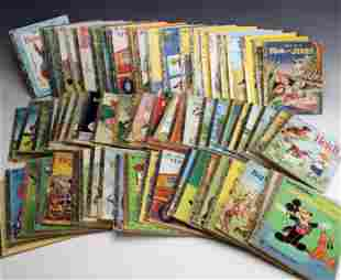 LARGE LOT OF VINTAGE LITTLE GOLDEN BOOKS