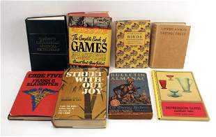ASSORTED VINTAGE REFERENCE BOOK LOT