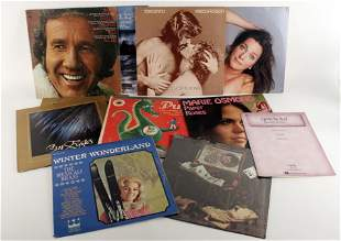 ASSORTED VINTAGE LP RECORD LOT