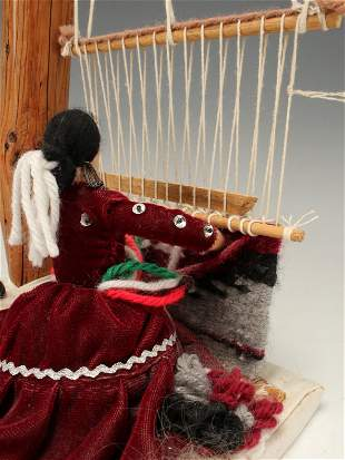 MEXICAN RUG WEAVING DOLL
