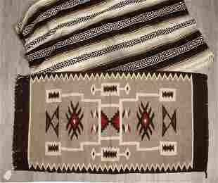 VINTAGE MEXICAN BLANKET & RUG