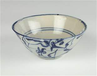 BLUE & WHITE ASIAN BOWL