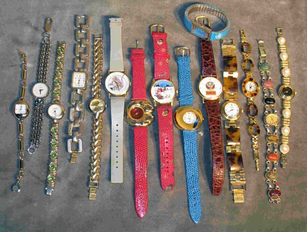 22: Assortment of watches