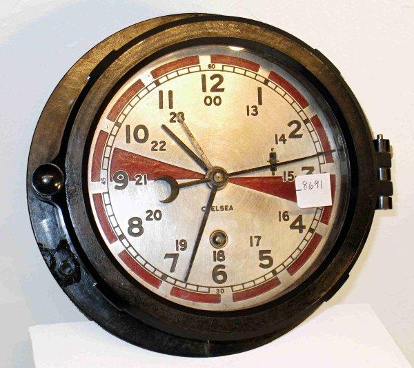 "16: Chelsea ""Signal room"" clock"
