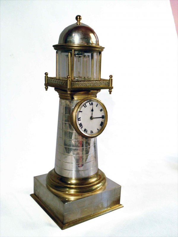 135: French made lighthouse clock