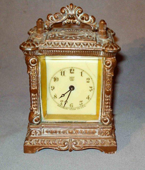 10: Waterbury Desk clock