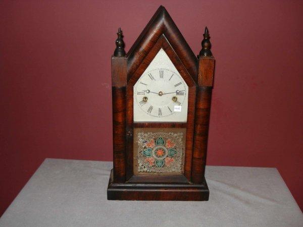 2: Steeple, or sharp Gothic, clock