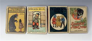 LOT OF BANCROFT TWINKLE TALES BOOKS 1ST EDITIONS