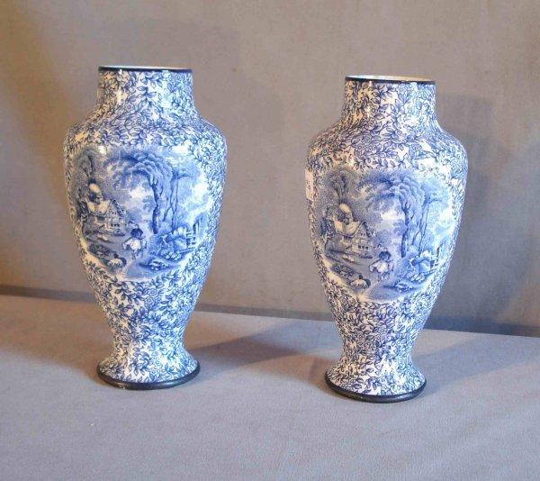 22: Fenton vases