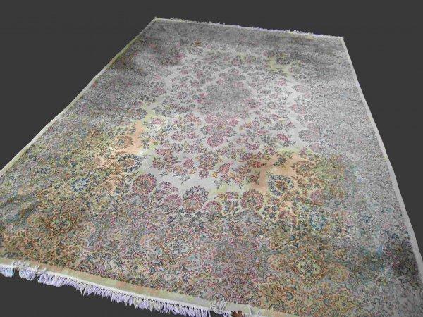 1: Large Oriental Kerman rug