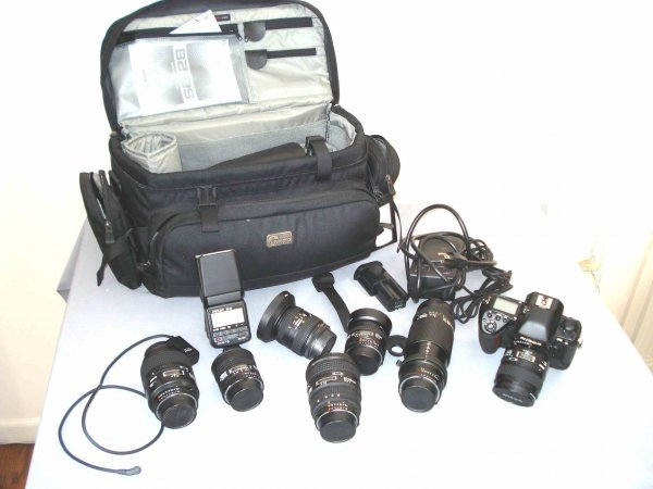 187: Nikon Camera and lenses