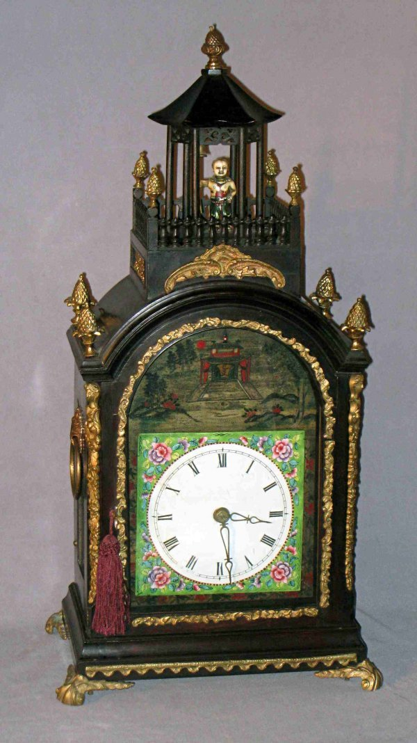 108: Automation Clock Signed Twaites & Reed