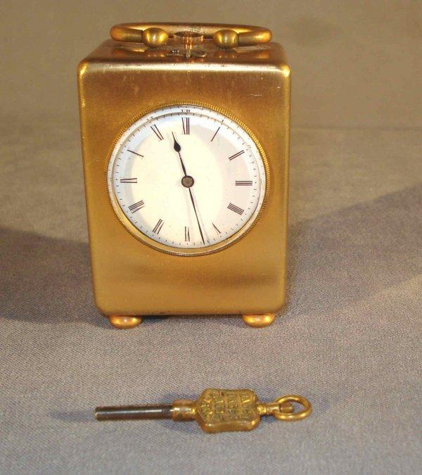 6: Brass Desk Clock