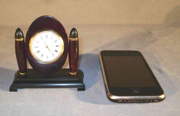 4: Art Deco Miniature Desk Clock