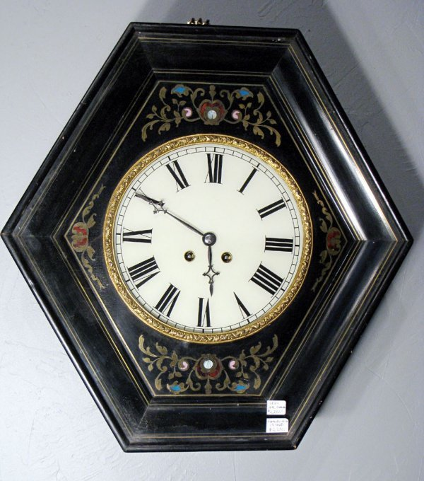 10: French Wall Clock