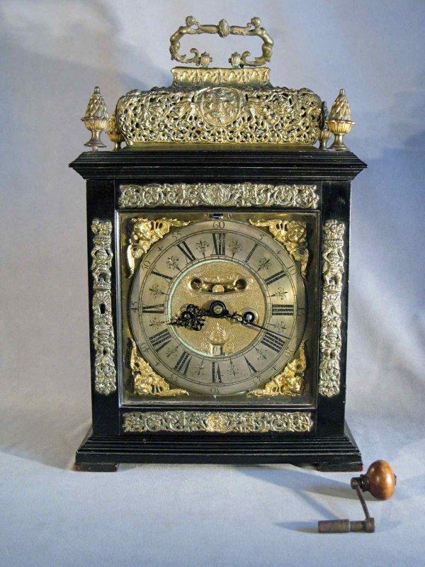 122: Important Bracket Clock by Markwick