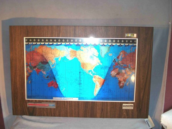 5: Geochron World Time Map and Clock
