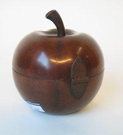 22: Apple form Tea Caddy