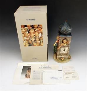 GOEBEL HUMMEL CALL TO WORSHIP CLOCK TOWER IN BOX