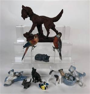 LOT OF COLLECTIBLE ANIMAL FIGURES