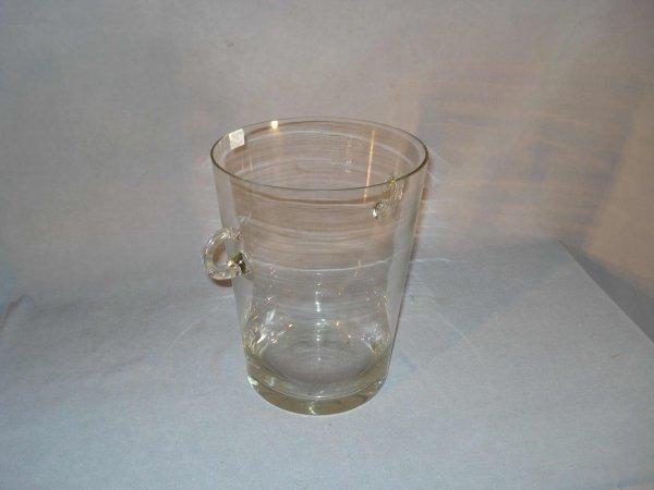 13: Glass champagne bucket