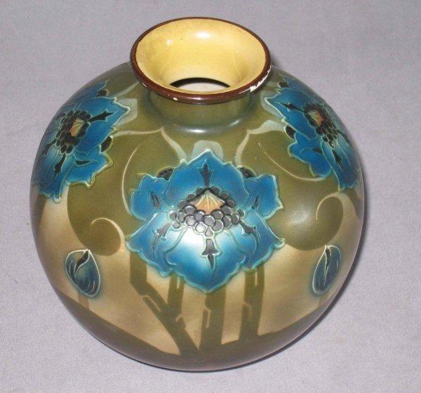19: Royal Bonn Art pottery Vase