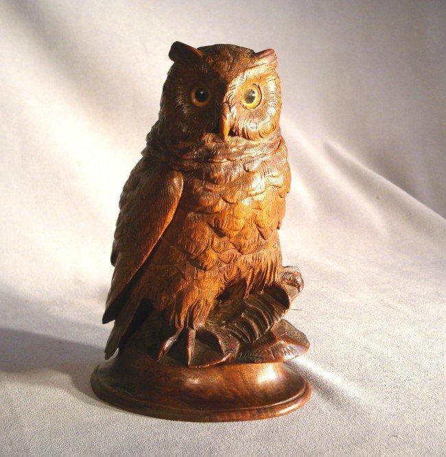 16: Carved Owl