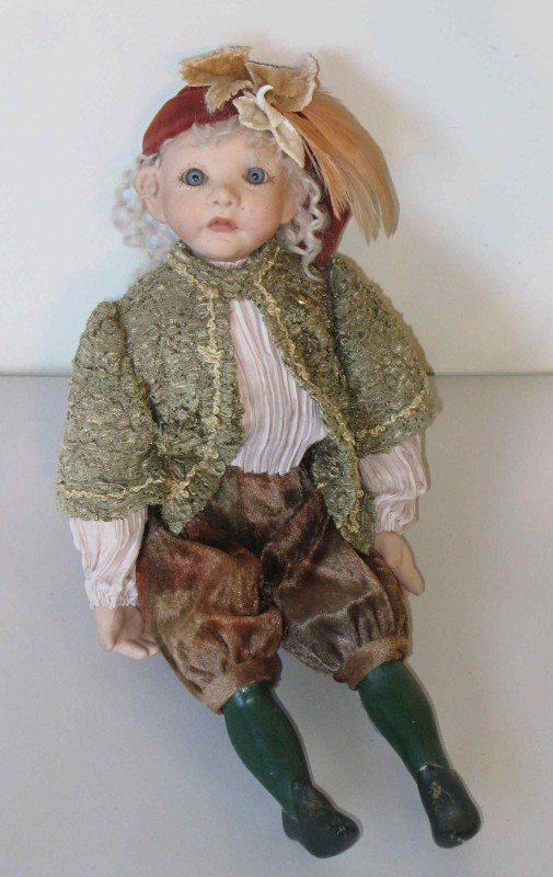 17: Bisque Doll in Knickers