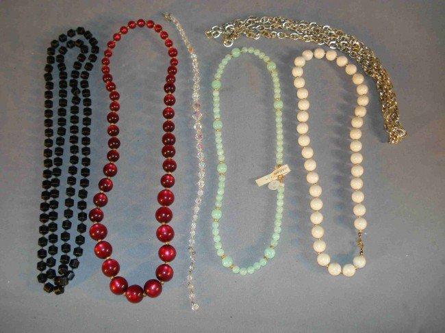 24: Necklaces galore