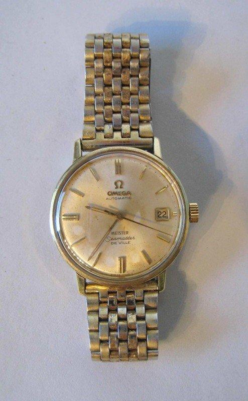 """139: Omega """"Seamaster""""wrist watch"""