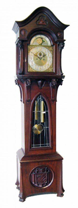 172: Fine Chime Hall clock by Herschede