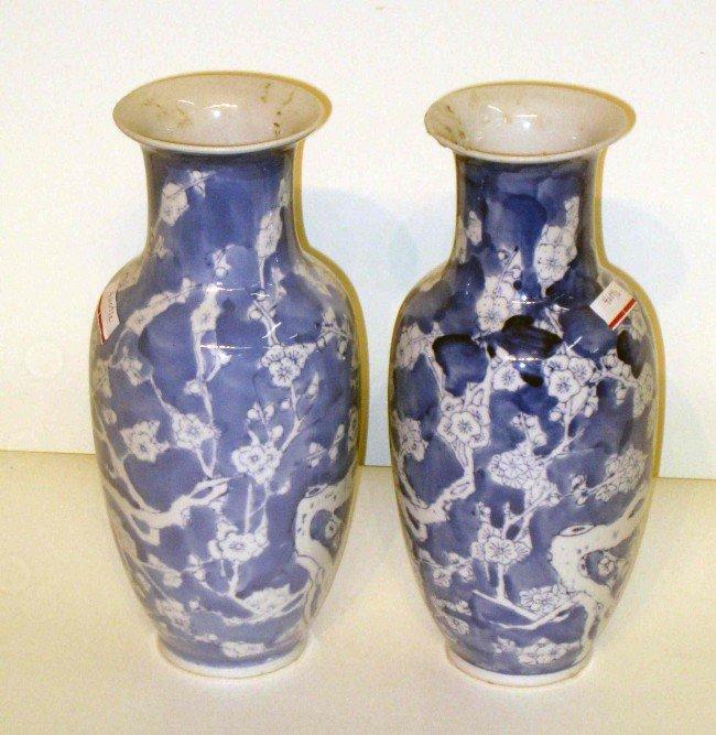 17: Blue And White Vases