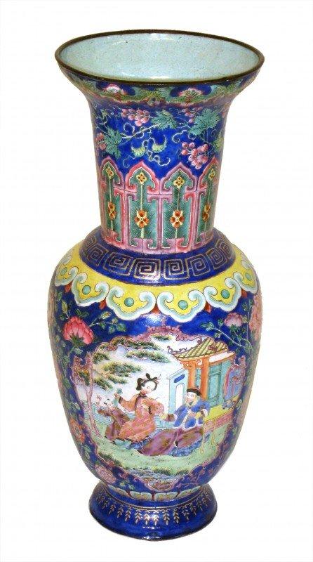 18: Chinese Enamel Urn