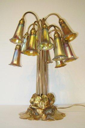 94: Tiffany Studios, Lily Lamp