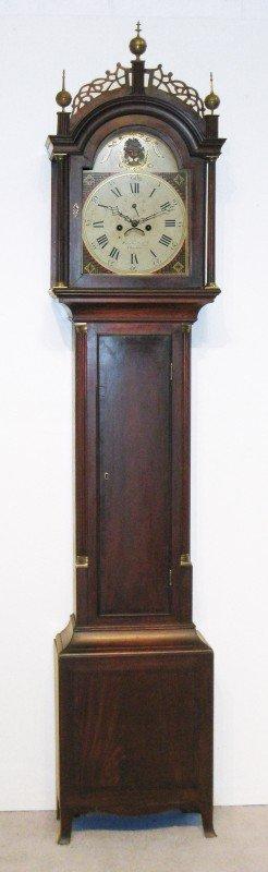 160: Simon Willard Tall Case Clock